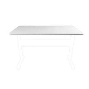 1500mm Desktop - Parchment (White)