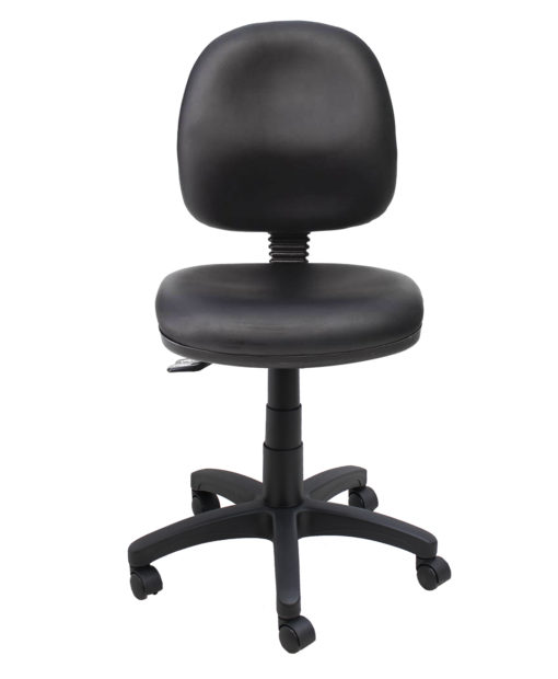 Gala lab desk chair front
