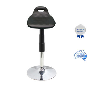 Sit-stand trumpet stool