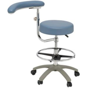 Apollo Medical Assistant Chair with Adjustable Boomerang Arm