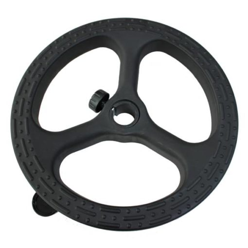 Black nylon office chair foot ring