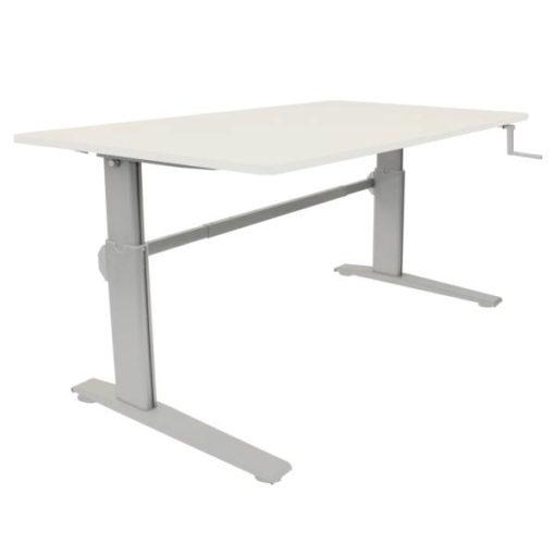 erTgo - Hand Crank Sit Stand Desk with 1500mm Desktop