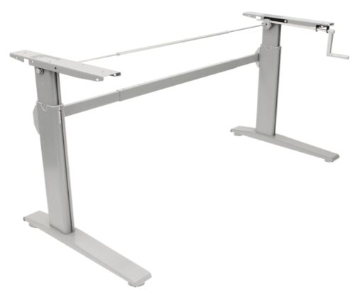 erTgo - Hand Crank Sit Stand Desk with 1500mm Desktop