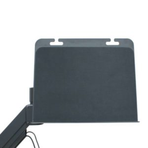 Laptop tray with cable