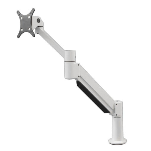 Dual Monitor Arm - Heavy Duty with Switch Wing