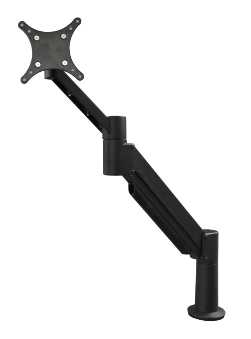 Dual Monitor Arm - Heavy Duty with Switch Wing - WRS (WITH rotation stop)