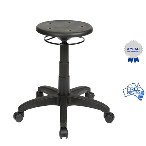 Falt pu ring adjust stool Icons