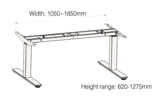 TiMotion Electric Ergonomic Desk Frame