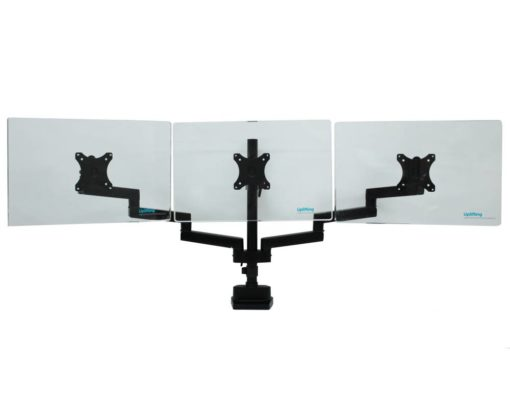 Actiflex II Triple Static Monitor Arms and Mount 3
