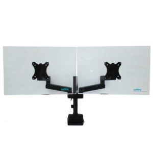 Actiflex II Dual Static Monitor Arms and Mount