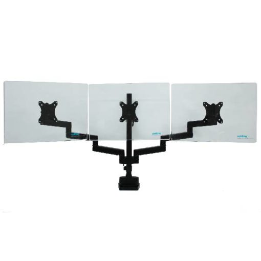 Actiflex II Triple Static Monitor Arms and Mount