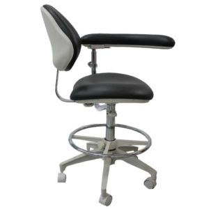Medical Assistant Chair with Adjustable Boomerang Arm