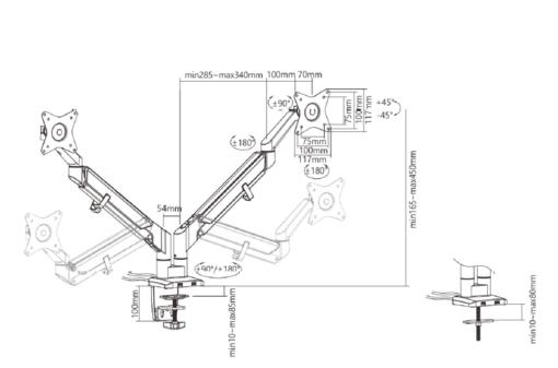 The-Yogi-Dual-Monitor-Arms-line-drawing