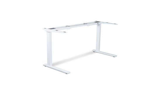 Delta White Static desk frame