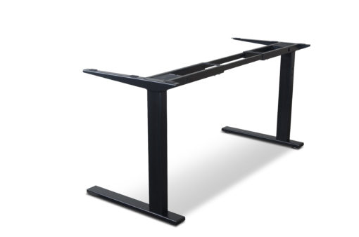 Black Static desk frame