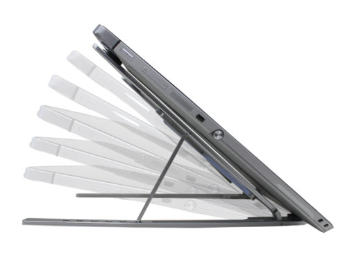 Foldable aluminium alloy laptop / tablet stand