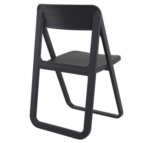 Banca Foldable chair black back