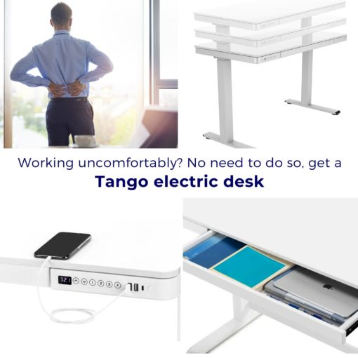 Tango Sit-stand desk features