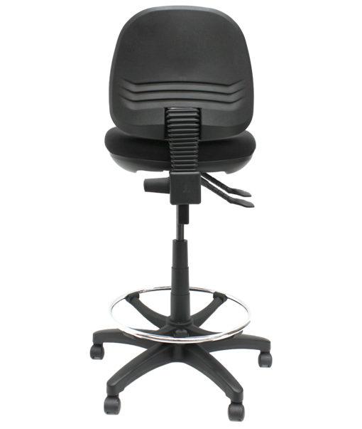 Gala Fabric Drafting chair back
