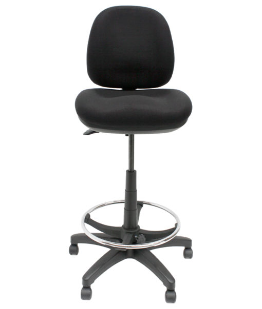 Gala Fabric Drafting chair front