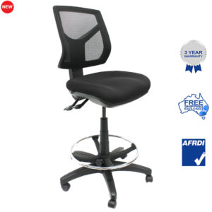 Gala mesh drafting chair angle