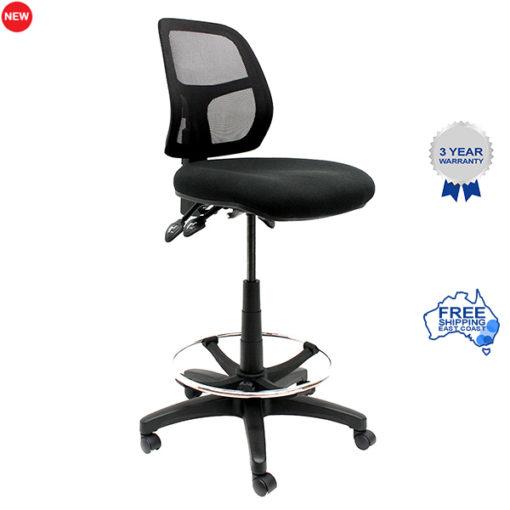Mesh drafting chair
