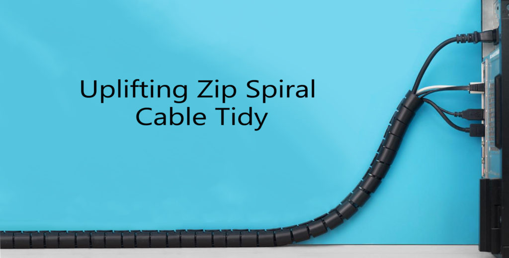 Zip spiral cable