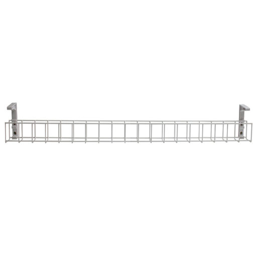 Single tier cable white tray 950