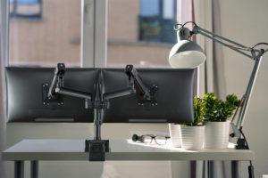 Actiflex II dynamic monitor arms