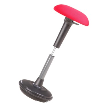 Red Wobble stool